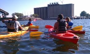Buffalo Harbor Kayak Rentals – $20 Per Hour at Canalside Plus Sunrise and Sunset Tours and Silo City Tours