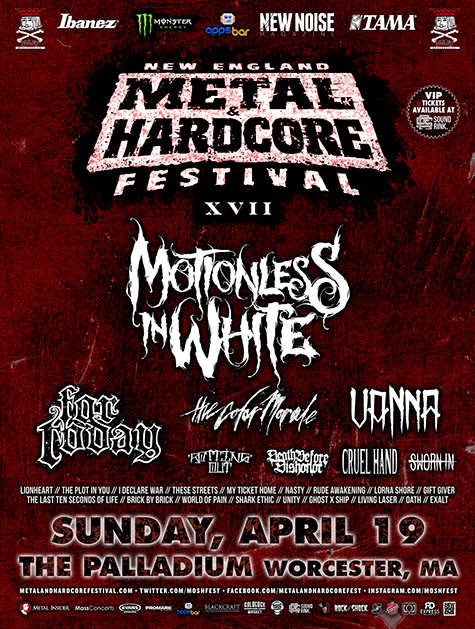 Hardcore and metal fest