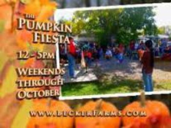 Becker Farms Pumpkin Fiesta- Great for Kids, Apple Picking, Tomatoes in Bulk NOW, Psychic Nights,  Trivia Night and Garbage Plates, Sunday Brunch, and Enjoy Live Music and Food  at the end of the Niagara Trails Wine Tour