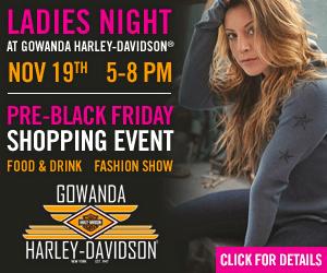 ladies night at gowanda harley davidson november 19 2016. Black Bedroom Furniture Sets. Home Design Ideas