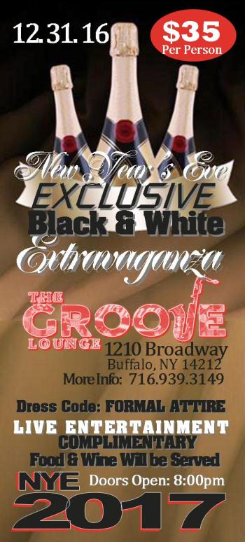 Eve party black and white extravaganza buffalo ny december 31 2016