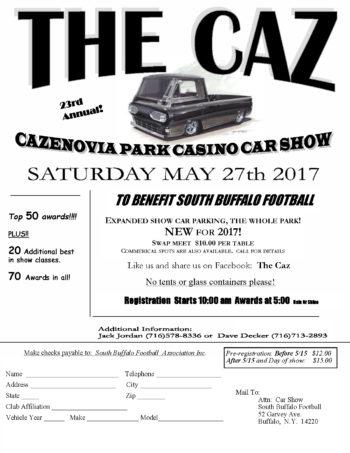 Cazenovia Park Car Show