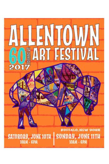 Allentown art festival june 10 11 2017 buffalo ny for Hamburg ny craft show
