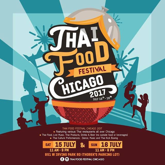 Thai Food Festival Chicago July