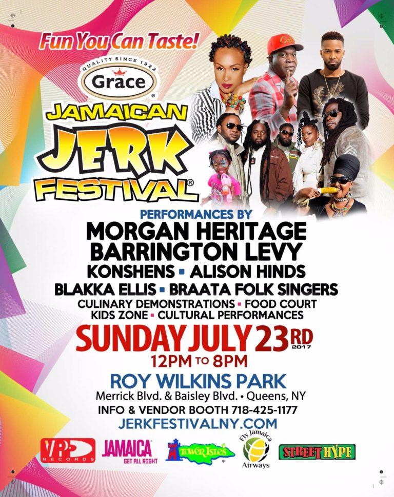 Jamaican Jerk Festival July 23 2017 Queens Ny