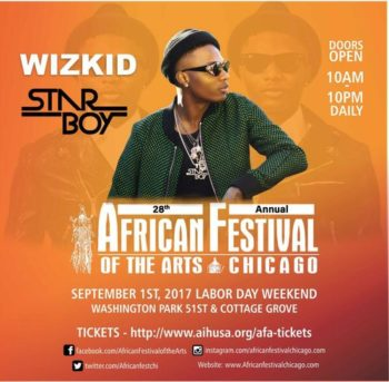African Festival Of The Arts September 1 4 2017 Chicago