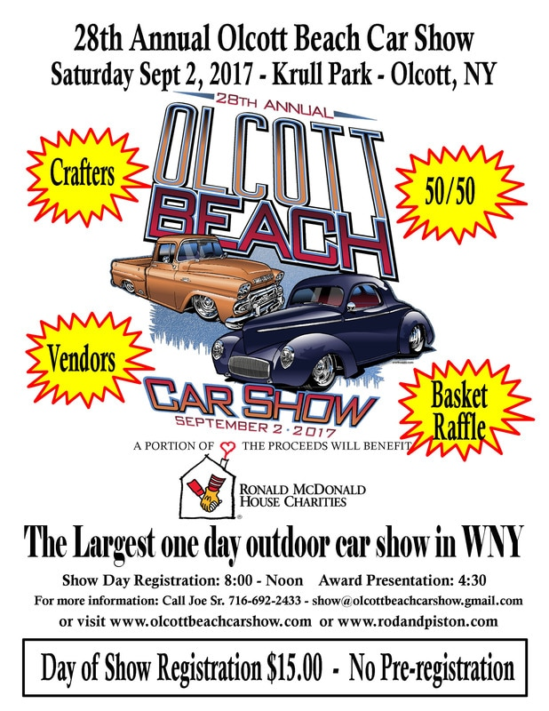 Olcott Beach Car Show September Olcott Beach NY - When is the car show