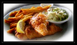Becker Farms Friday Fish Fries – Fish, French or Sweet Potato Fries, Coleslaw and Two Hushpuppies- Noon to 9pm- Gasport, NY
