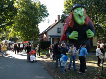2017 Halloween Haunted House Queens County Farm October