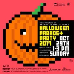 Washington Market Park Halloween Costume Parade – October 29