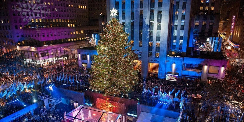 2017- Christmas Tree Lighting At Rockefeller Center