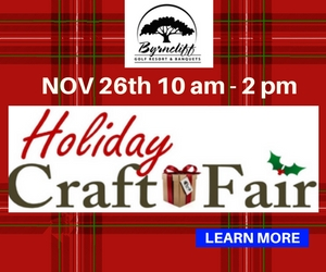 Byrncliff Resort Holiday Craft Fair – November 26 from 10am to 2pm – Varysburg, NY
