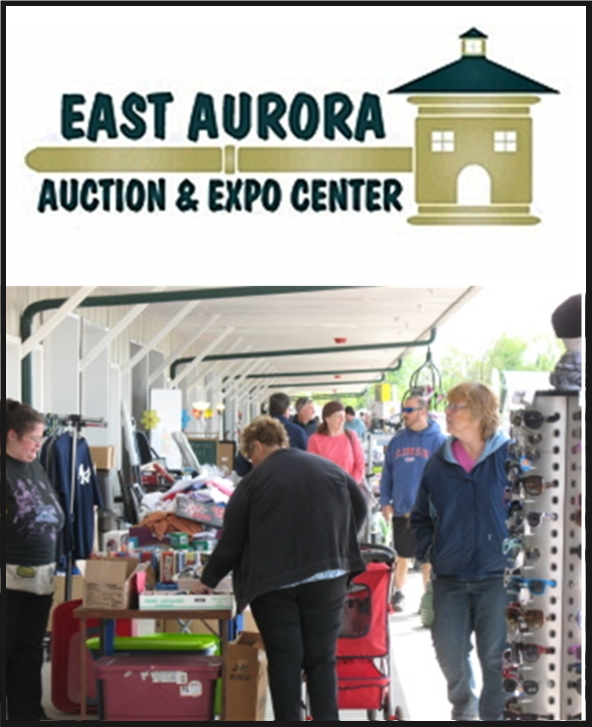 East Aurora Flea and Farmers Market- Open Year Round Saturdays and Sundays from 8:30am to 4:30pm- East Aurora, NY