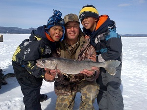 Free fishing weekend in new york state february 17 18 for Ny dec fishing license