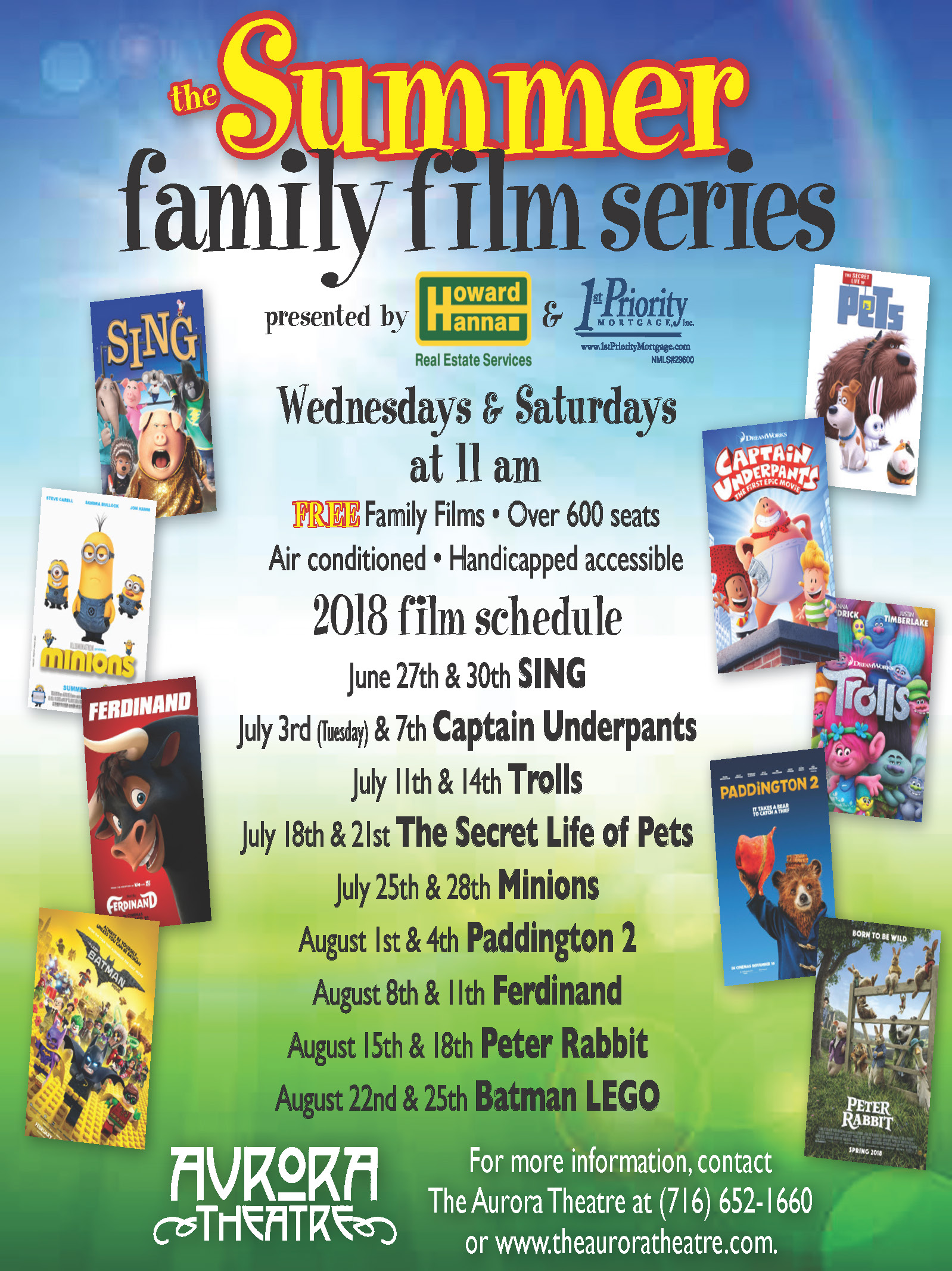 2018- Free Family Movies At East Aurora Theater-Batman -2074