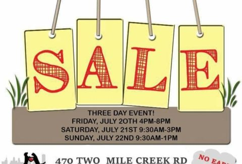 Buffalo C A R E S  Animal Rescue Yard Sale – July 20-22