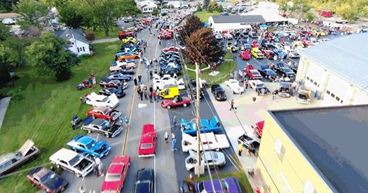 scranton volunteer fire dept car show and cruise and