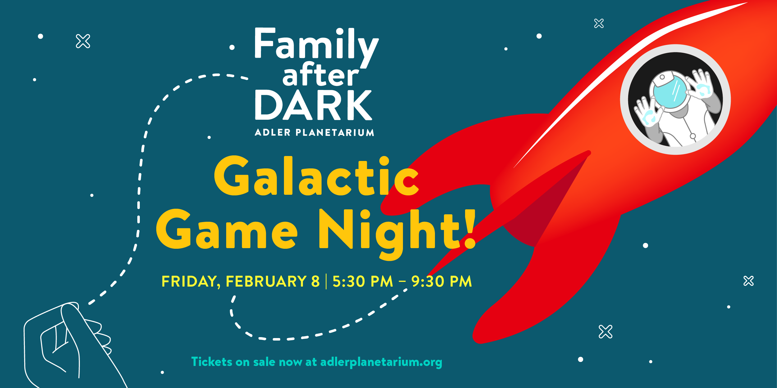 Family After Dark at Adler Planetarium - Game Night