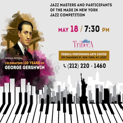 2019- Made in New York Jazz Gala – May 18, 2019- NYC | BoredomMD com